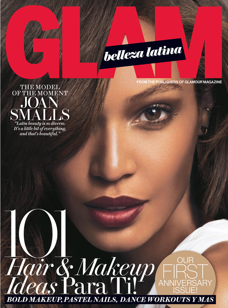 "blackfashion:  Joan Smalls covers Glam Belleza Latin Spring 2014 issue.  On her Latin pride:""Yes, 'pride' in coming from such a beautiful, diverse culture is something that I think of in connection to Latin beauty. Regardless of what shade you are or where you come from, you still are beautiful."" On categorizing her race:""Aha. People want to claim you. And people don't realize that when you're Latin, you're so diverse. I am black. I am Latin. I am Spanish. You know? It's a little bit of everything, and that's beautiful. So, everybody, claim me. I'm fine with that.""  Read the full interview here."