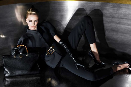 Daria Strokous by Mert & Marcus For The GUCCI Pre Fall 2013 Campaign