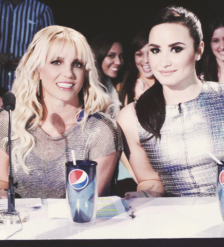 @BritneySpears @DDLovato on Flickr.@BritneySpears @DDLovato