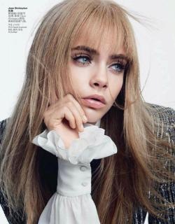 pinerosolanno:  Cara Delevingne: The Transformer