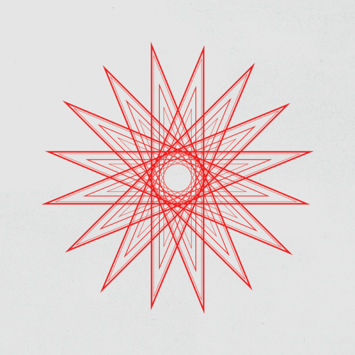 dailygeometry:  #005 Spiky Ball.