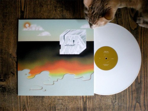 Multiple options to pre order: Vinyl (white, ltd to 350) http://atelierciseaux.com or http://bureaubureau.fr CD http://ihearthophop.com Digital http://ihearthophop.com or iTunes etc after release. Listen to first single: https://soundcloud.com/atelierciseaux/idiotglee-pinkwood Life Without Jazz EP comes out Feb 26!