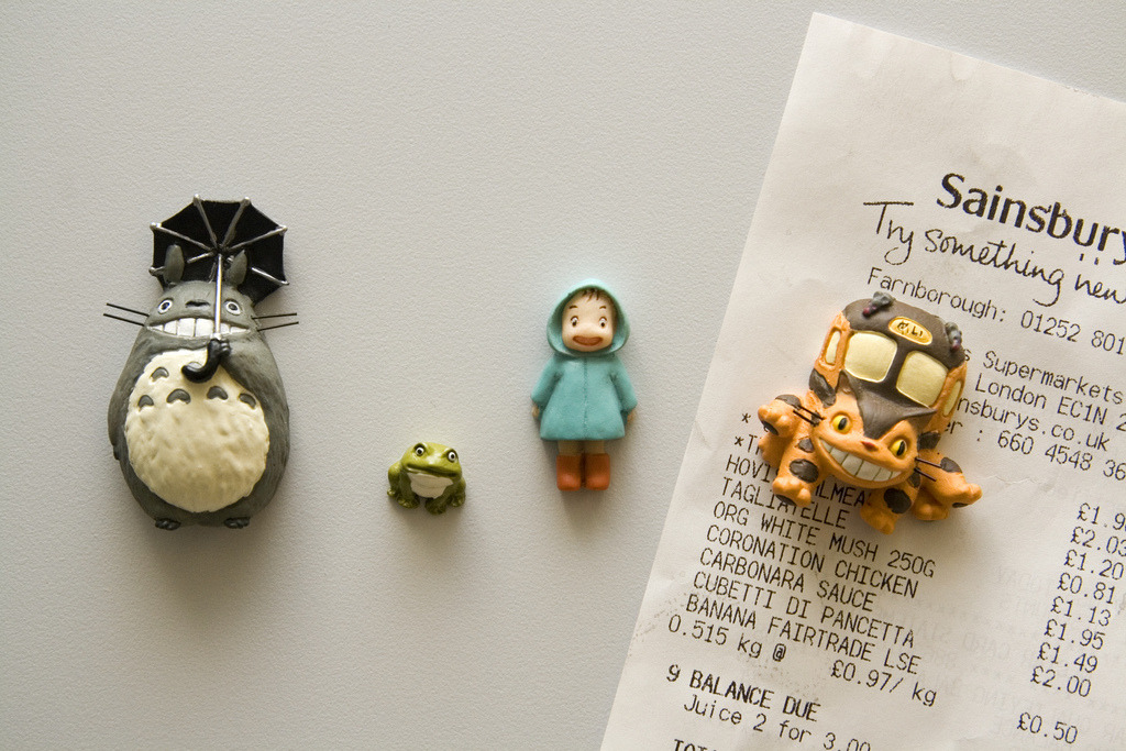 jayceiusagi:  Totoro Fridge Magnets (by The Quiff Is Dead)