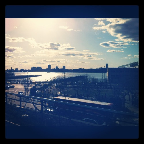 View from the High Line. #Springpleasegethereiloveyou.