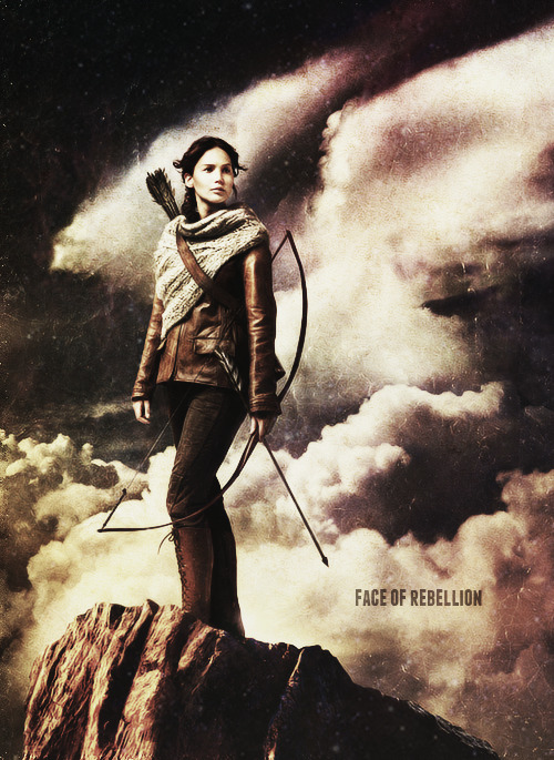 Katniss Everdeen, The Face of the Rebellion