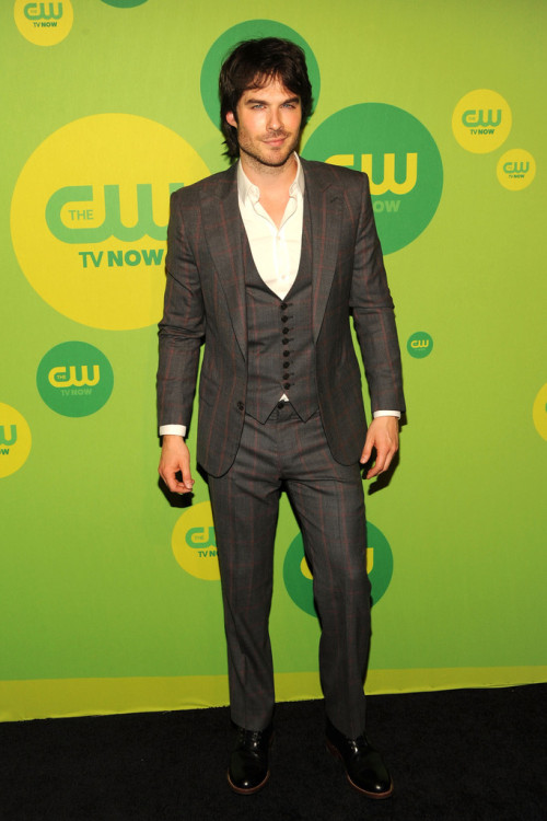 Ian Somerhalder || CW Upfronts at The London Hotel in NYC on May 16, 2013
