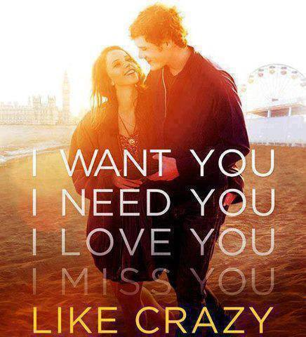 Like Crazy | via Facebook on We Heart It. http://weheartit.com/entry/61526045/via/iamsamil