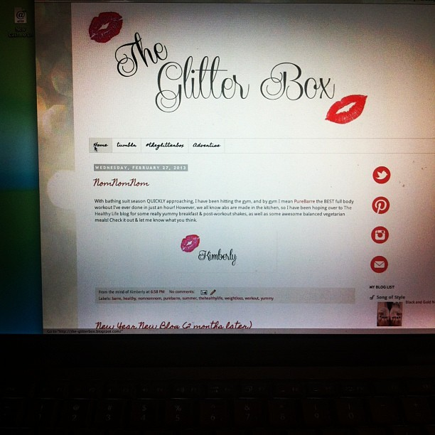 Working on #theglitterbox blog so excited #blogger #fashion #fashionista