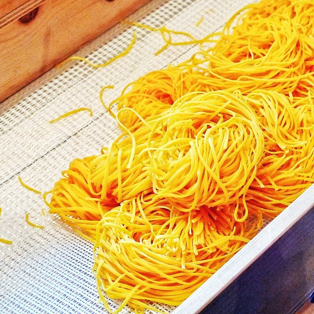 """""""Tajarin"""" Is A Pasta Made Almost Entirely From Super"""