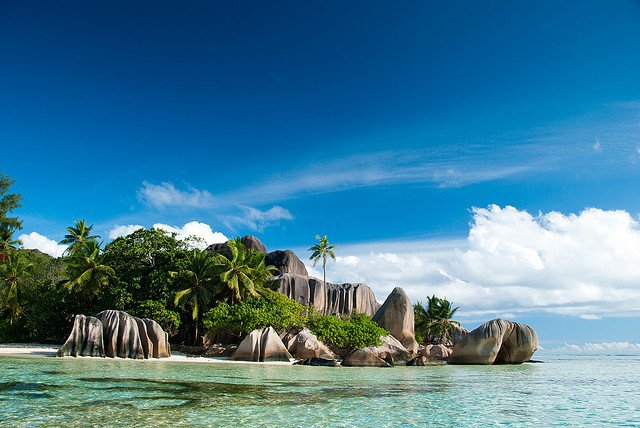 evysinspirations:  Seychelles - La Digue - Anse Source d'Argent [1] by dibaer on Flickr.