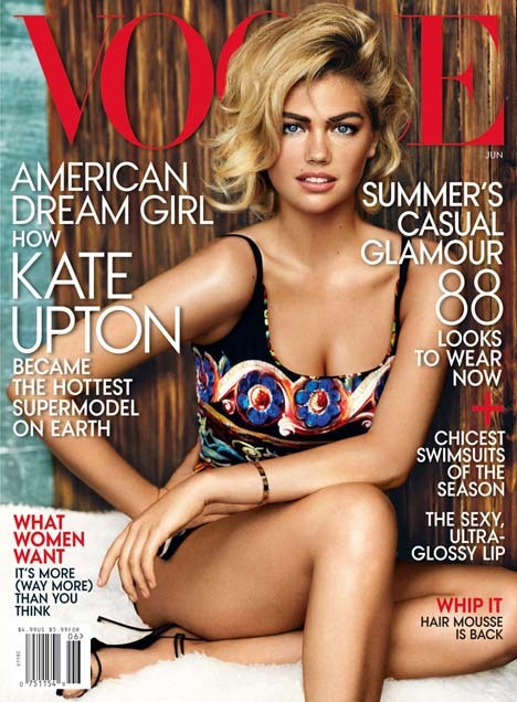 Kate Upton Lands Her First U.S. Vogue Cover