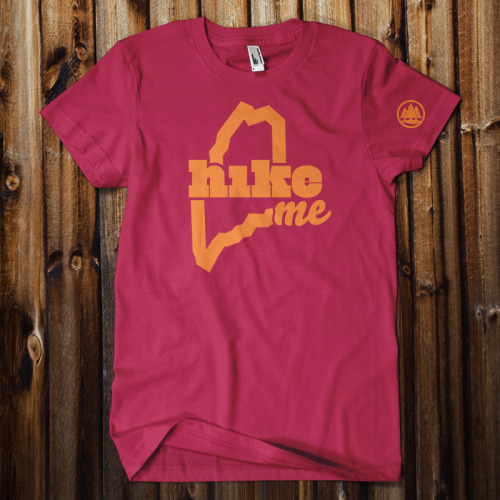"New HikeME colors: ""West Quoddy Cranberry"""
