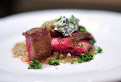 Lamb Plate (close-up) by nicknamemiket on Flickr.