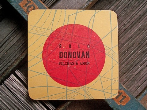weloveletterpress:  Great coasters by Prensa La Libertad, Argentina