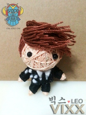 theknottyloft:  VIXX - ON AND ON LEO a.k.a Jung TaekwoonMini String Doll