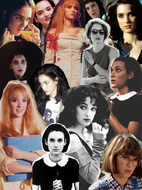 leannewoodfull:  hermionessugarquill:  Winona Ryder  SHE IS PERFECT