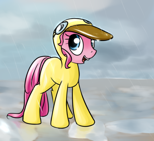 theponyartcollection:  Pinkie's Raingear by *Sokolas