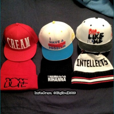 Everything I have ordered in the past week! 😎 #Snapback #BeanieSeason #Beanie #fresh #swag #hat #dope #Rihanna