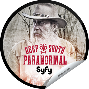 I just unlocked the Deep South Paranormal Fan sticker on GetGlue                      214 others have also unlocked the Deep South Paranormal Fan sticker on GetGlue.com                  Have a seat on the porch and a swig of sweet tea. You've survived a whole season of Deep South Paranormal and lived to tell the tale. But don't rest too easy, for the south is bubbling over with spirit. Share this one proudly. It's from our friends at SyFy.