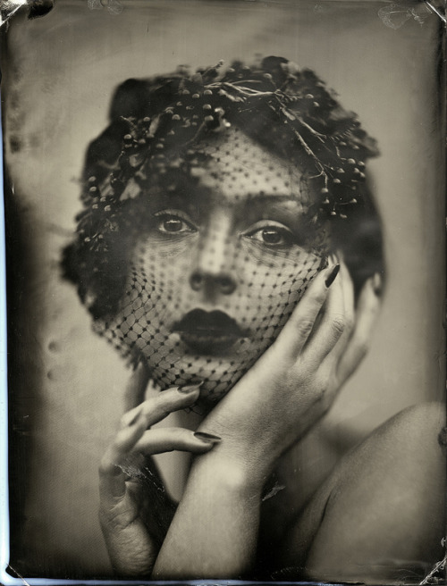 edrossphotography:  Anastasia Arteyeva  Whole plate tintype. (c) Ed Ross 2013  This is so cool!!!