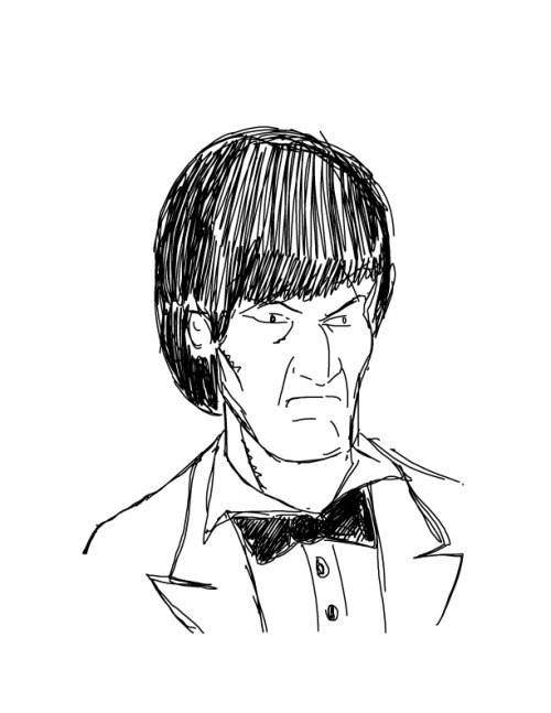 sketch-boogie:  The Second Doctor As immortalised by the late Patrick Troughton.