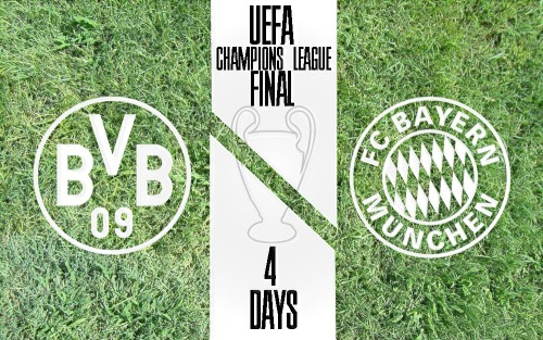 UEFA CHAMPIONS LEAGUE FINAL IS 4 DAYS AWAY!