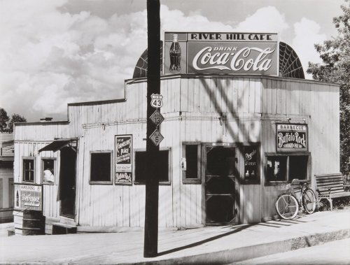 Walker Evans' Roadside Restaurant, Alabama