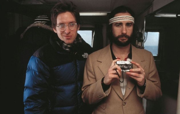 Wes Anderson and Luke Wilson. The Royal Tenenbaums.