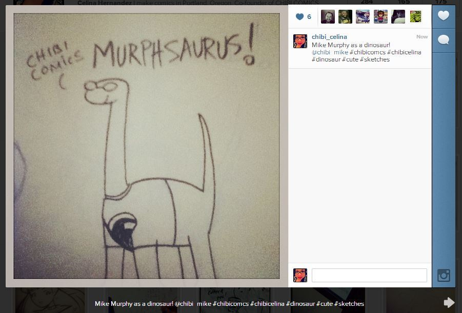 Mike Murphy as a Dinosaur ^___^