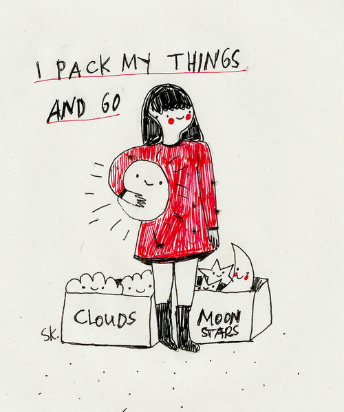 supersonicelectronic:  Saskia Keultjes. Illustrations and comics by Saskia Keultjes (On Tumblr): Read More