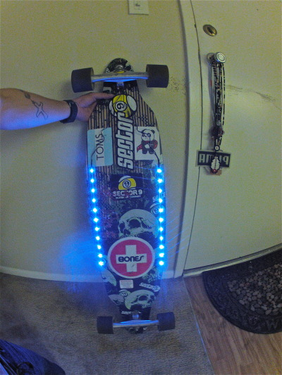 my longboard got led lights too! ;p