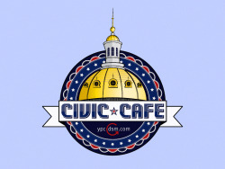 YPC Civic Café Event Badge | Freelance (2012)