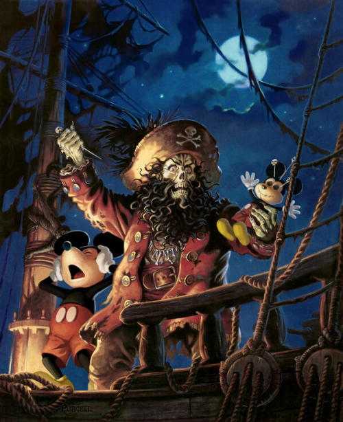 Disney closes LucasArts: LeChuck is not amused.via emmanuelnegro