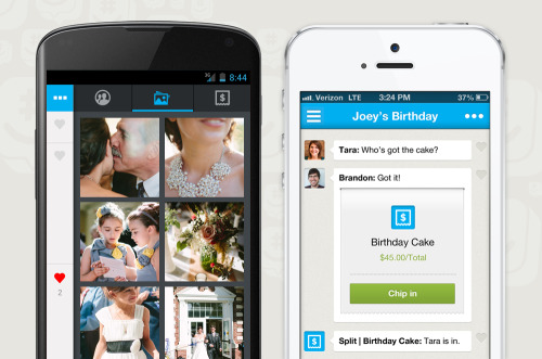 GroupMe 4.1 -Gallery View-Cost Splitting