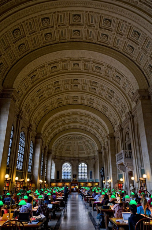 plane-ticket:  Boston Public Library