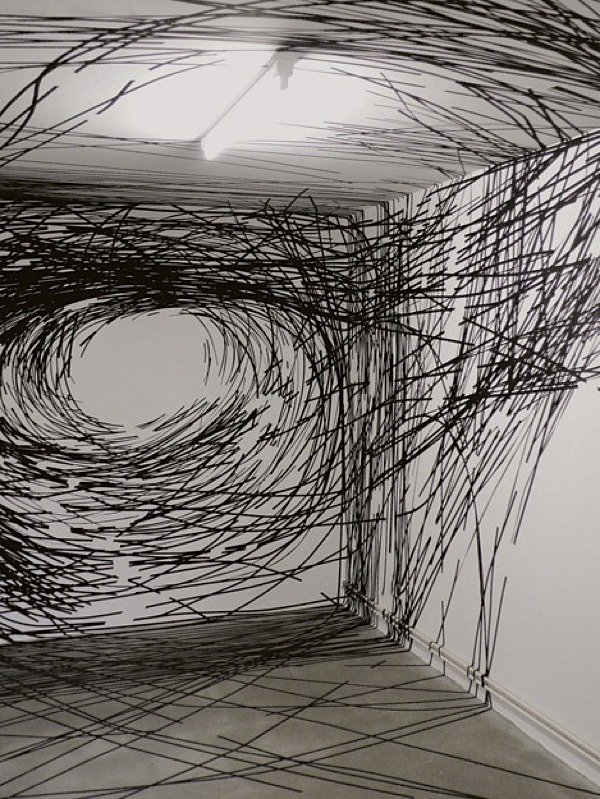 arpeggia:  Tape installations by Monika Grzymala Related post: here