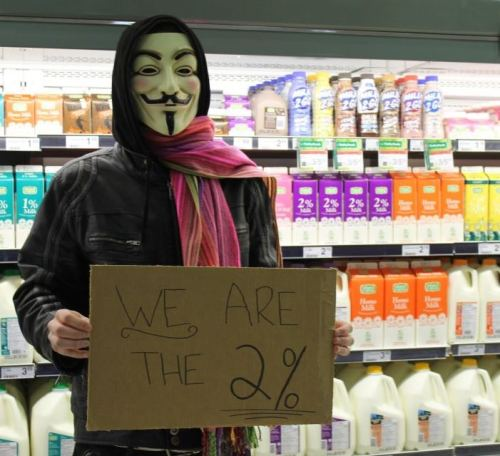 We are the 2%