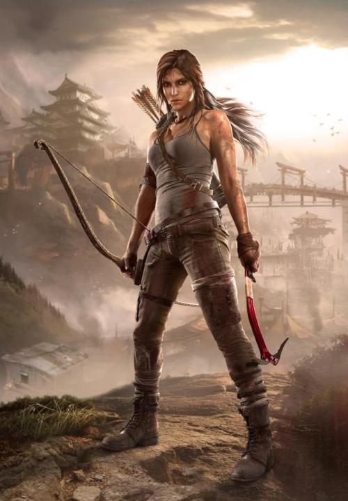 Tomb Raider ~ Key Art: Summit