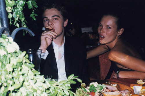 if-the-jimmychoo-fits:  Leonardo Dicaprio and Kate Moss in 1994