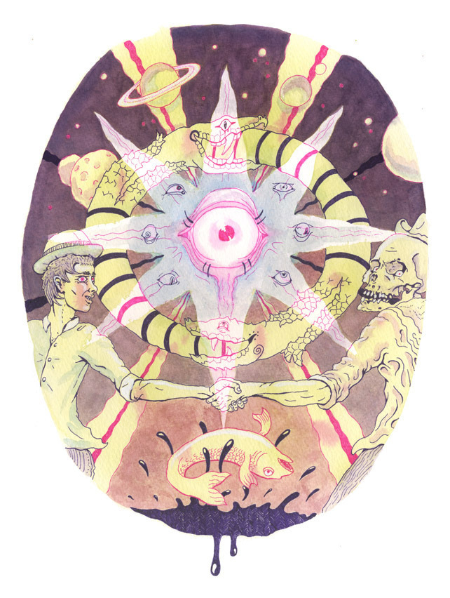 Our Mystic Gave Us the Inside Scoop on 2013 Illustration by Kerry Zentner The year 2012 didn't end up being the apocalyptic Mayan bloodbath we all expected. So, since we're all going to be dicking around here for a while longer, what can we expect from 2013? To answer this question we called our go-to for all things mystical, Tara Greene, who once warned us to keep our technology safe duringMercury Retrograde. I asked her to do a Tarot reading for 2013 and what she came up with was not reassuring: Positive energy through February, but a strong possibility for war in March; things get better through August, though there's a chance of flooding; peace talks in September, but total economic breakdown in October; picking up the pieces in November only to be completely disappointed in December. Sounds bad, right? We asked Tara more about what's going to happen this year and whether or not we're completely fucked. VICE: Your reading for 2013 seems bleak. Is there any hope?Tara Greene: There are three things you need to remember. First, April is a very interesting card. It's called the Wishing Card and it's at the root of this whole chart. It says that what you believe or what you wish for is how you're going to influence events in the world, so people need to stay very positive. Second, the thirteenth card indicates a sense of everybody having to pull together, everybody having to give up something to keep the whole economy and the world running. Finally, there are two major cards in this reading and that signifies a sense of extreme diplomacy, people working together, that sense of duality, communication, choices—major choices going on in this year as well. So it seems to me that 2013 will set the stage for 2014. There won't be much finality to 2013; there will be a lot more questions asked than answers given, correct?Yes. It'll be a very big rollercoaster. We're going into the year of the snake. The undulations of the snake very much describe the rhythm of this coming year. And the snake is a very ancient symbol of rebirth, so there will be a shedding of the old skin; the rebirth of the new. I would say that's a very good, positive symbol for this year. What's happening is the world is in a midlife crisis and the whole spirit of the breakdown of corporations, of culture of the old systems and innovation, of revolution, of freedom, it's very much on the front burner beginning in 2011 all the way to 2015. So we're going to see things break down further and further and further. But the danger is that it's already becoming very fascist, so the big powers that want to hold onto their power are going to push back and resist harder and harder. What we can see with people in the streets with Idle No More and Occupy, those are just the beginning stages of more and more revolution going on in the world. Also, if you look at 2013 numerologically, the number 13 in the Tarot is the symbol of death and rebirth. So the numerology and the Chinese symbols are overlapping again in the sense that the old has to go, but it's a difficult birth. People are making it difficult—they're not going with the flow, they're not going with the change, and the Earth changes and all the climate changes are part of that, forcing people to change the way they look at the world, how we've been used to living all this year, we've been living in a big bubble for a long time. Let's move on to more specific things. Where is the best place to be, physically, on the Earth this year?I would say that people need to definitely be away from coastal waters. There are going to be more tsunamis and more hurricanes and tornadoes and all that stuff, so I think the more inland you are, the better. In terms of good energy, nothing comes immediately. Iceland is a good place to be. Australia, no. Any country where eclipses fall over the country—those are not good places to be. All I can see for 2013 is huge upheavals everywhere. So in terms of good energy I would say the best energy place to be is in your own heart. Be meditative, be clear, be calm, be secure inside of oneself so wherever you go, you'll be protected. And how about fashion trends?There's going to be a lot of bright, lovely, heart-centered colors like pinks and greens, which are heart chakra colors. And a lot of gray. So two styles, very optimistic, very 60s inspired as well as other very technical, very sombre gray suits, very tailored. So again, a sense of dichotomies. And what about music trends?Everything is going to stay about the same. Continue