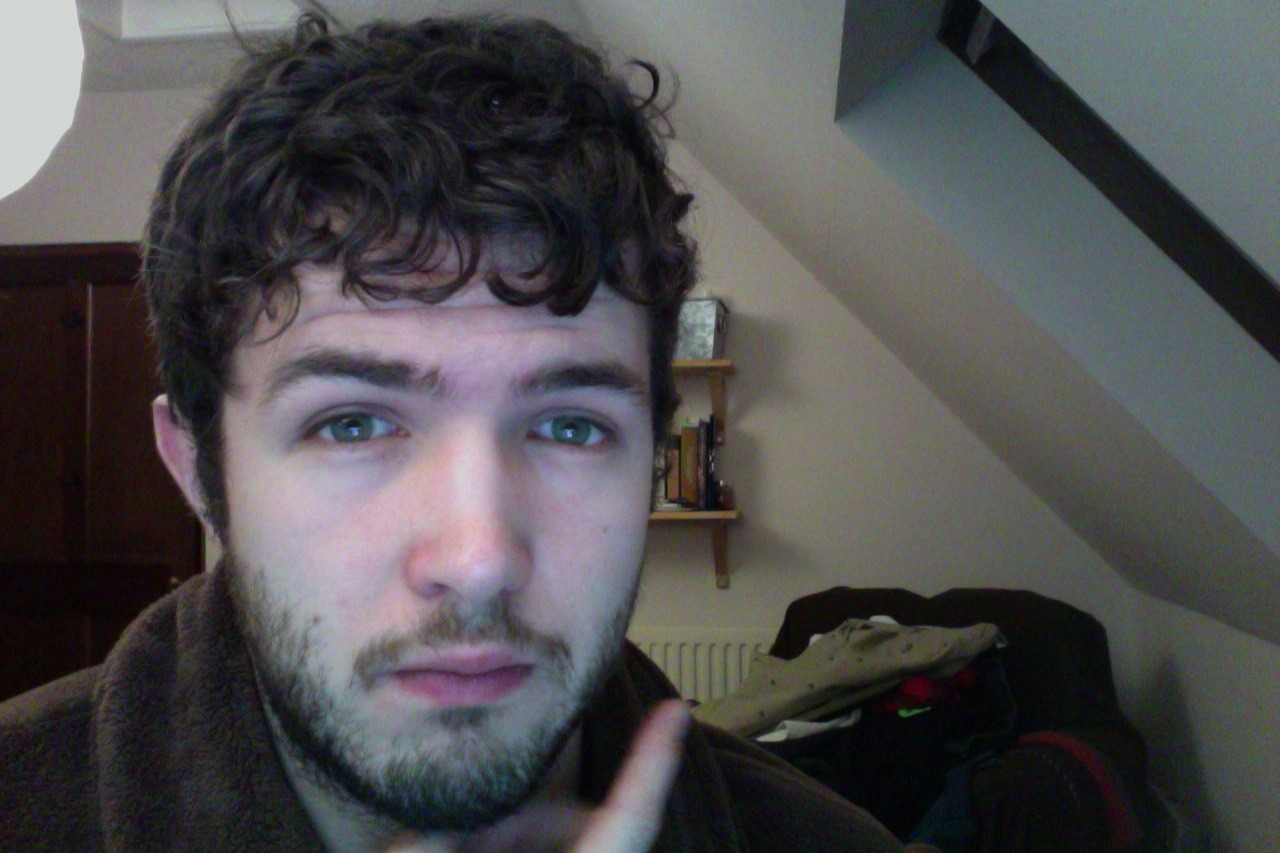 this is no longer stubble this is man beard i am so tired tiniest eyes goodnight