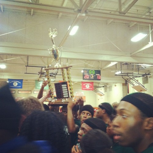 lipglossandkush:  I love my schooolllllllllll!!!!!! We came in first for the first time in 16 years! SPARTAN PRIDE #ELMONT #WEDOTHIS