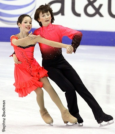 Lorraine McNamara and Quinn Carpenter skating the Kilian compulsory dance at the 2010 Novice US National Championships.