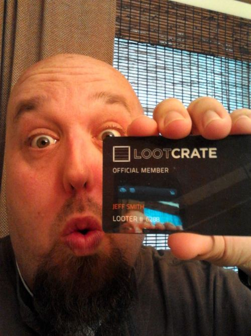 Got my Loot Crate membership card… Does this get me free tours of the Hall Of Justice?