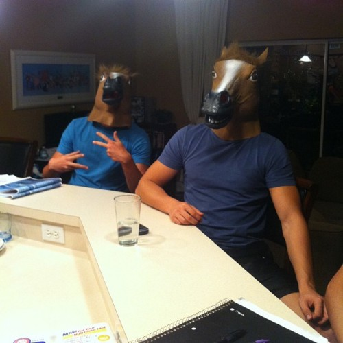 Just horsing around with @kyle_meleca and Kristoff #throwbackthursday