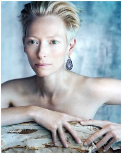 bohemea:  Tilda Swinton by Javier Vallhonrat
