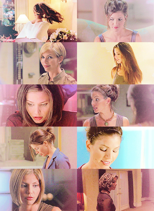 Cordelia Chase + some of her many hairstyles