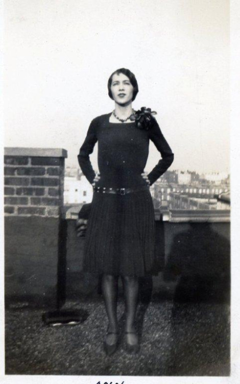Great shot of my great grandmother in the Bronx!