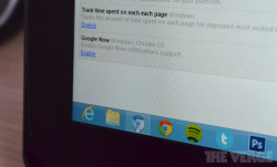8bitfuture:  Google Now may be coming to Chrome browser. References to Google Now have appeared in the Chromium backend recently. The information suggests it is being brought initially to Chrome for Windows, and Chrome OS, with no mention of Chrome for Mac.