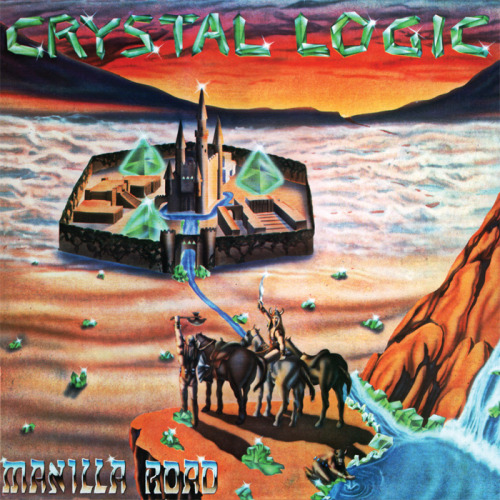 Crystal Logic - Manilla Road6/10 Genres: Heavy metal Epic metal? Eh. It's all right. The music is pretty good (and at times really good), but the production is really weak, and Mark Shelton's vocals are really nothing special (he sounds rather nasally at times). The guitar solos are also not so great, and sometimes they don't even really sound like notes, which is perfect if your, say, Deathspell Omega, but this is FAR from that. I always heard that these guys were the first real EPIC metal band, but it only really sounds like staight-up heavy metal to me. Nothing more, nothing less. The album is good enough that I'll probably check out more of their stuff later on, but it's not something that I'd put on regularly.